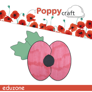 Remembrance Day Poppy - Crafts with Eduzone