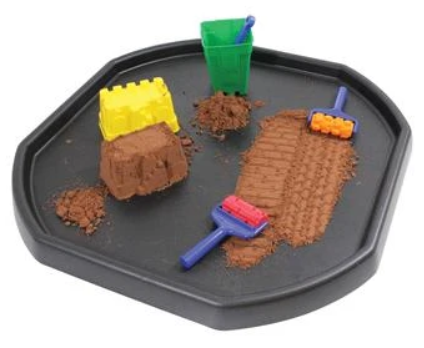 tuff tray product in black