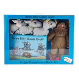Puppet Sets, Three Billy Goats Gruff and Troll, Set