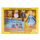 Puppet Sets, Goldilocks and The Three Bears, Set