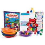 Three Bear Family, Sort, Pattern and Play Activity Set, Age 3+, Set