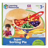 Counting and Sorting, Super Sorting Pie, Age 3+, Set