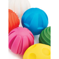 Texture and Feel, Tactile Balls, Age 12 Months+, Set of 6