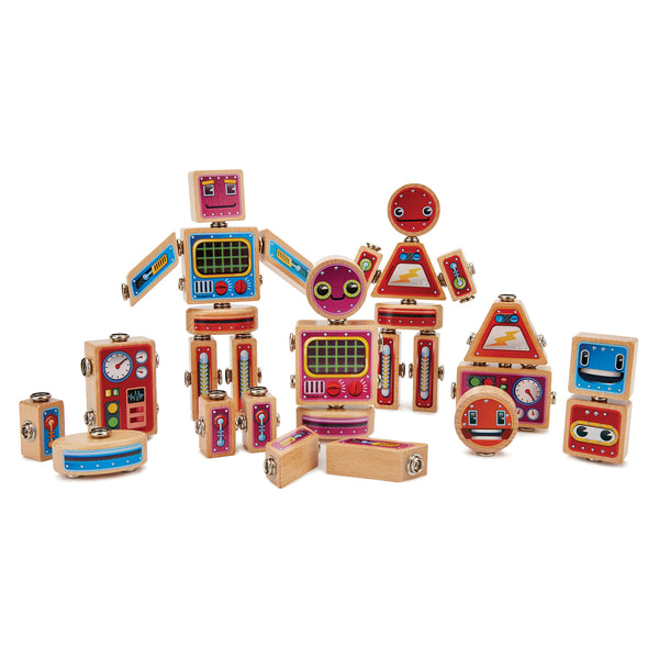 Snap Bots, Set of 36 Pieces