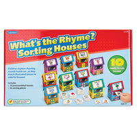 What's The Rhyme? Sorting Houses, Age 3+, Set