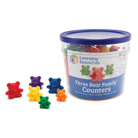 Three Bear Family, Three Bear Family Counters, Age 3+, Set of 80