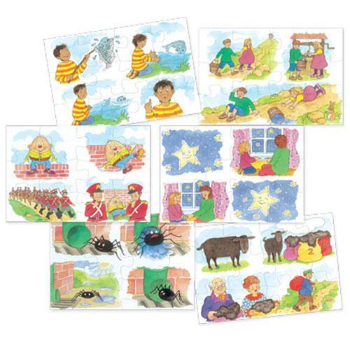 Nursery Rhymes Puzzles - Set 1