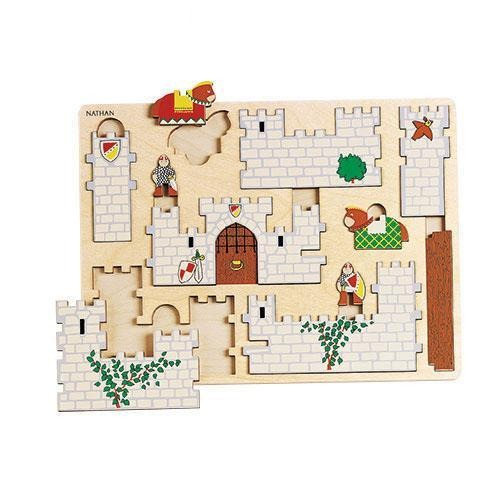 Fortified Castle 3D Cut-out