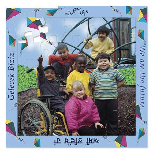We Are the Future - 16 Piece Multilingual Puzzle