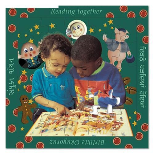 Reading Together - 16 Piece Multilingual Puzzle