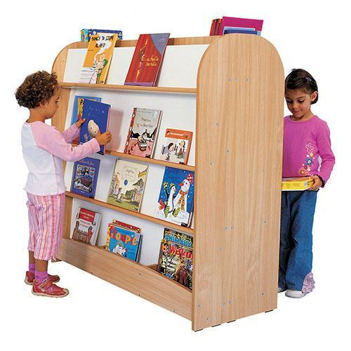 Double-sided Book Shelving Unit - Large