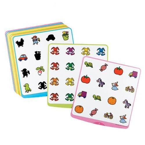 Quadrimemo Cards - Shapes and Colours