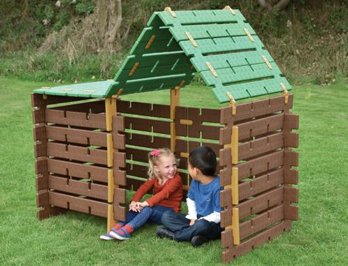 Constructa Cabin, Set of 60 pieces