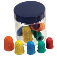 Fingerettes, Assorted Colours/Sizes, Tub of 15