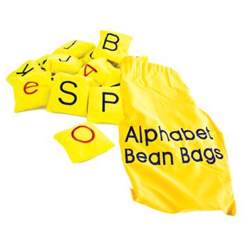 Bean Bags, Letters, Set of 26