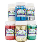 Craft Bioglitter(R), Large Tubs, Pack of 6 x 100g