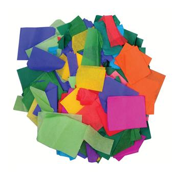 Tissue Paper, Off-Cuts Assorted, Pack of 500G