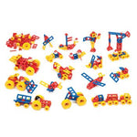 Mobilo, Giant Vehicle Set, Ages 3+, Set of 424 Pieces