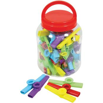 Kazoos, Age 3+, Tub of 30