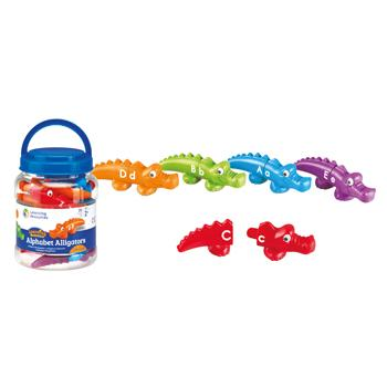 Alphabet Alligators, Age 2+, Tub of 13