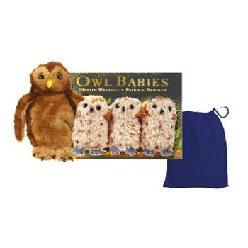 Literacy Story Packs, Owl Babies, Set
