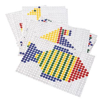 Mosaicoloredo, Extra Peg Boards, Age 3+, Set of 2