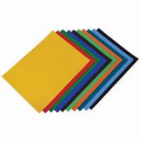 Mounting Poster Paper, Brights Assorted, Brights, A4 +, Pack of 10 x 10 Sheets