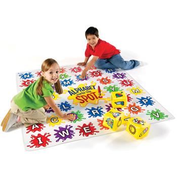 Alphabet Floor Games, Alphabet Marks The Spot, Set
