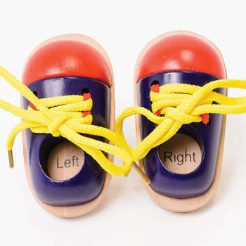 Lacing Shoes - Pair