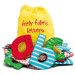 Feely Fabric Letters, Set of 26
