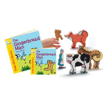 Traditional Tales Story Sets, The Gingerbread Man, Age 3+, Each