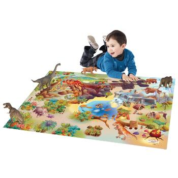 Dinosaur Playmat, Ages 3+, Each