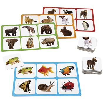 Animal Bingo, Age 2+, Set