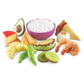 Multicultural Food Set, Age 18 Mths+, Set of 15