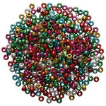 Metallic Pony Beads, Pack of 500 approx.