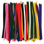 Pipe Cleaners, 4mm Wide, Assorted Colours, Pack of 250