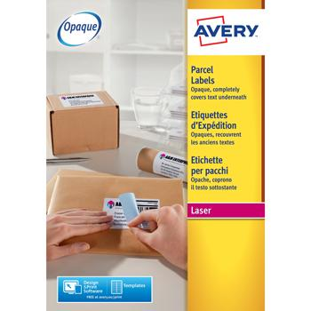 Avery(R) Blockout(TM) Laser Shipping  Labels, Pack of 100