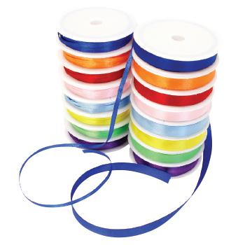 Ribbons, Satin, Pack of 120M