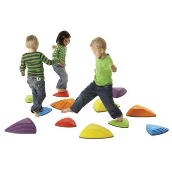 Children's Coordination, Gonge, River Stones, Set of 6