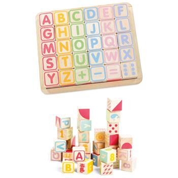 Abc Wooden Blocks, Set