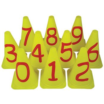 First Play, Number Cones, Set of 10