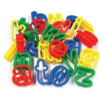 Lowercase Letter Cutters, Pack of 26
