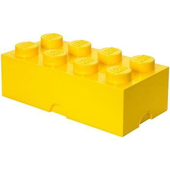LEGO(R) Storage Brick - Yellow 2X4, 4 Years+, Each