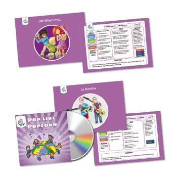 Music Activity Packs, Pop Like Popcorn, Set