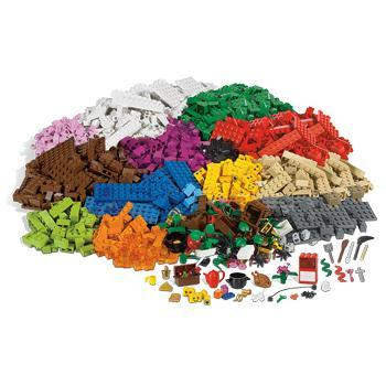 LEGO Education, 9385 Sceneries Set, 4 Years+, Set of 1207 Pieces