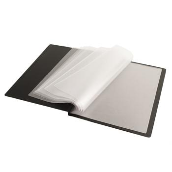 A4 Display Books, Rigid PVC Over Board Cover, Each