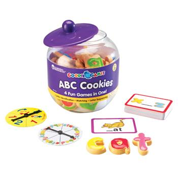 Alphabet Games, Abc Cookies, Age 3-7, Each