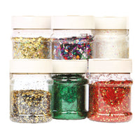 Glitter, Tapestry Mix, Pack of 6 x 230ml