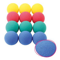 Foam Balls, Low Density, 70mm Diameter, Pack of 12