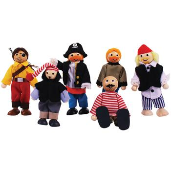 Pirate Figure Set